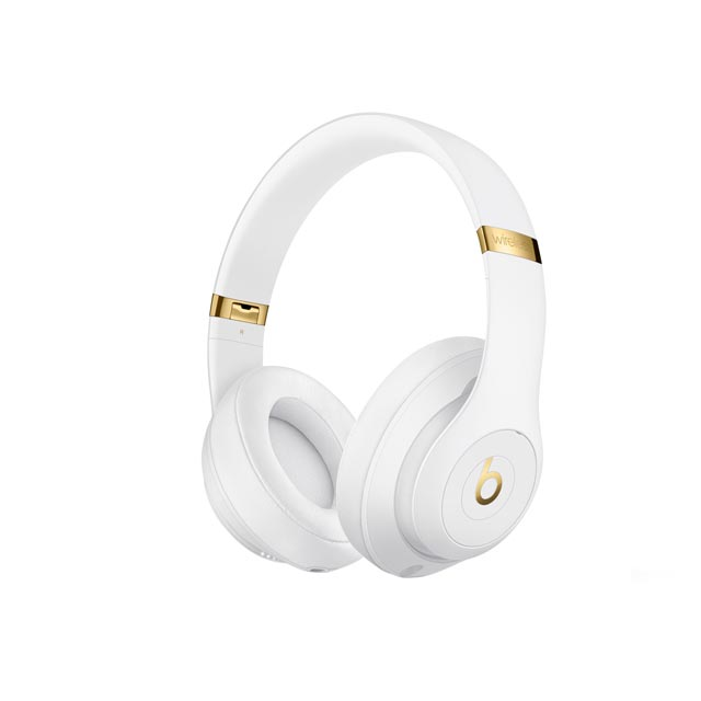 Beats by Dr. Dre Studio3 Wireless Headphones - White - MQ572ZM/A - 1