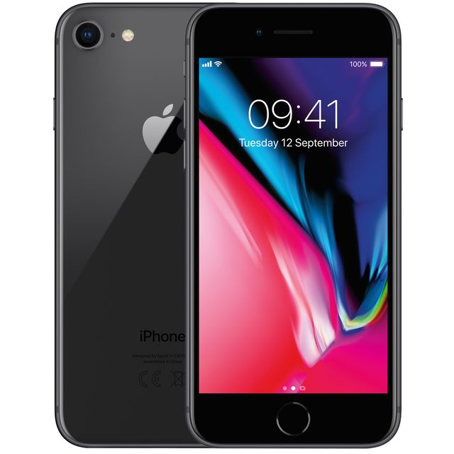 Apple iPhone 8 MQ6G2B/A Mobile Phone in Space Grey