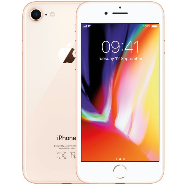 Apple iPhone 8 MQ6J2B/A Mobile Phone in Gold