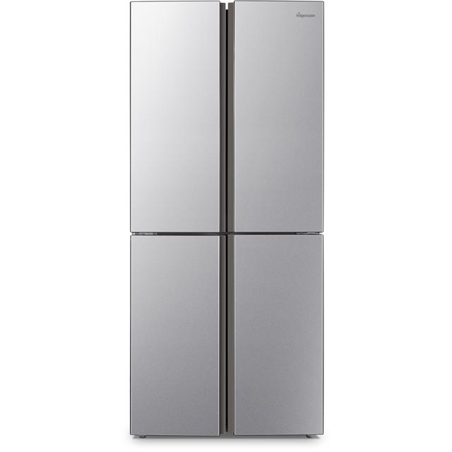 Fridgemaster American Fridge Freezer - Silver - A+ Rated