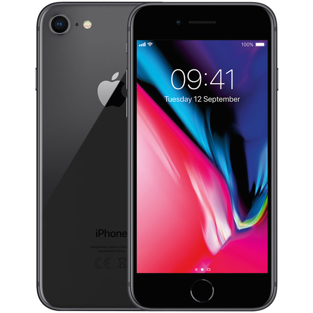 Apple iPhone 8 MQ7C2B/A Mobile Phone in Space Grey