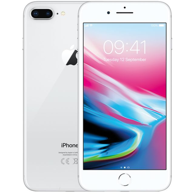 Apple iPhone 8 Plus MQ8M2B/A Mobile Phone in Silver