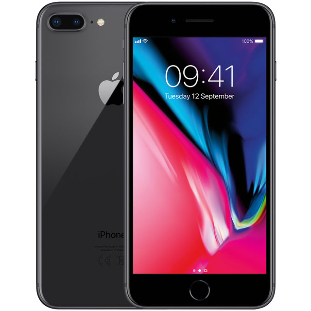 Apple iPhone 8 Plus MQ8P2B/A Mobile Phone in Space Grey