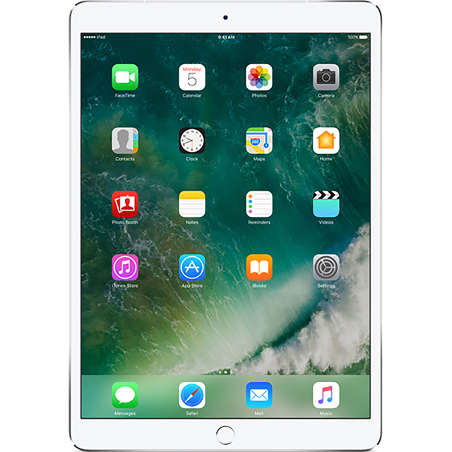 "Apple iPad Pro 10.5"" 64GB WiFi + Cellular [2017] - Silver - MQF02B/A - 1"