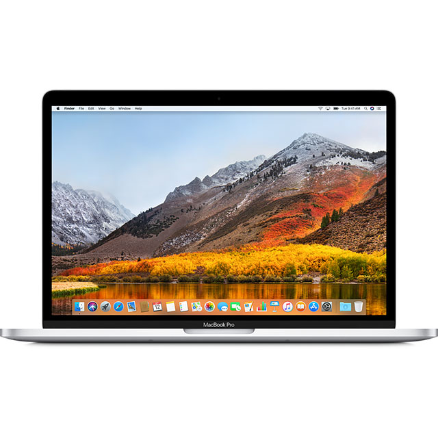 "Apple MacBook Pro with Touch Bar 15.4"" [2018] - Silver - MR962B/A - 1"