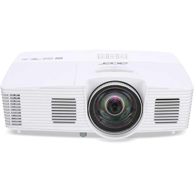 Acer H6517ST Short Throw Full HD Home Cinema Projector 1080p Full HD - White - MR.JLA11.002 - 1
