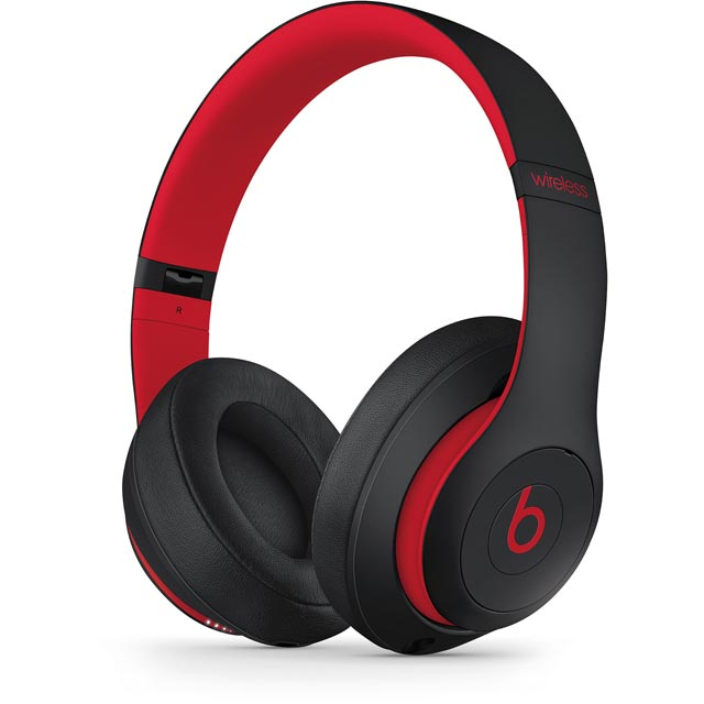 Beats by Dr. Dre Studio 3 Wireless Headphones Decade Collection - Defiant Black