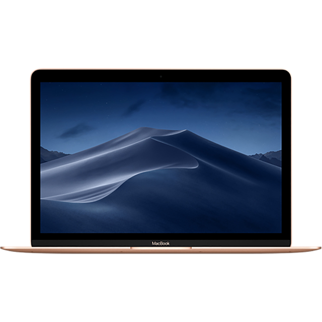 "Apple 12"" MacBook [2017] - Gold - MRQN2B/A - 1"