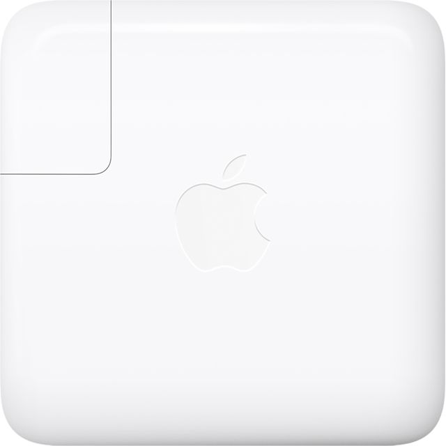 Apple 61W USB-C Power Adapter MRW22B/A Computing Cables & Adaptors in White