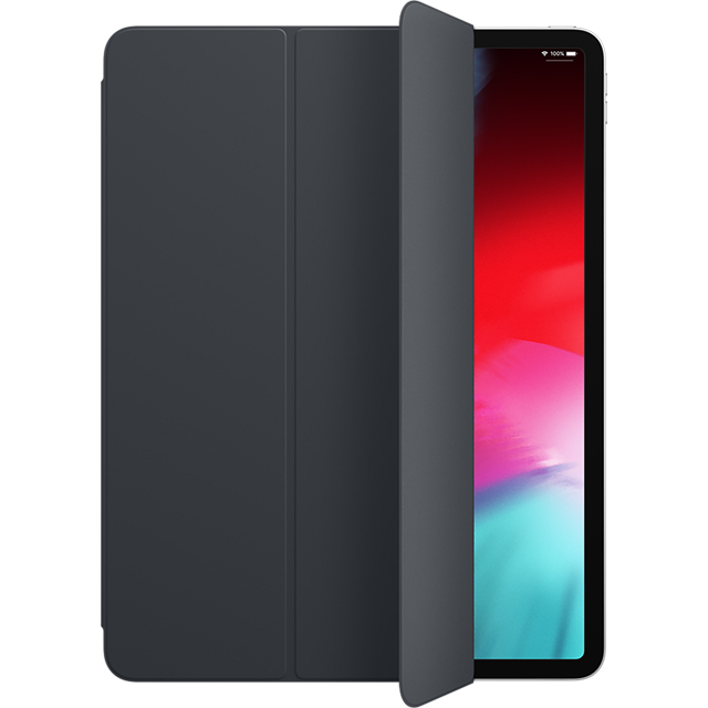 Apple Smart Folio for 12.9'' iPad Pro (3rd Generation) Tablet Case Charcoal Grey - MRXD2ZM/A - 1