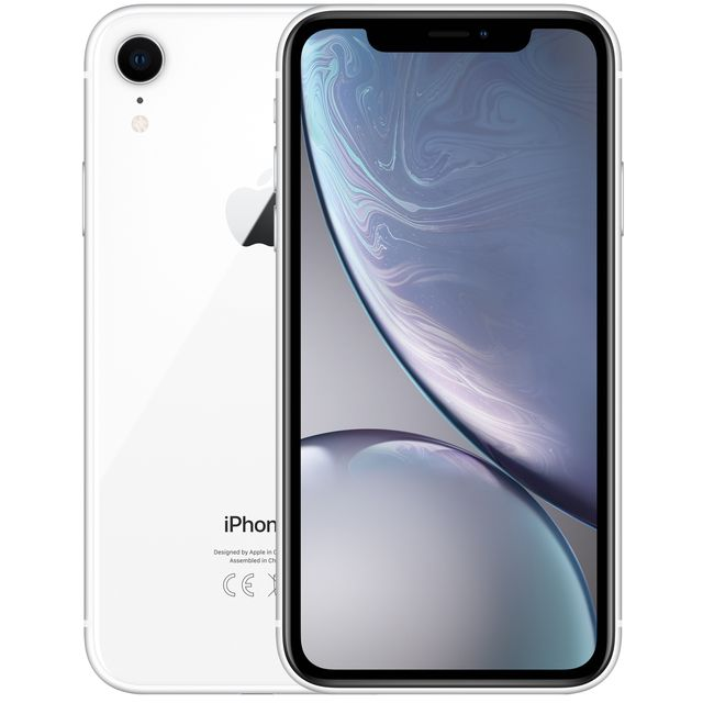 Apple iPhone XR 128GB in White - MRYD2B/A - 1