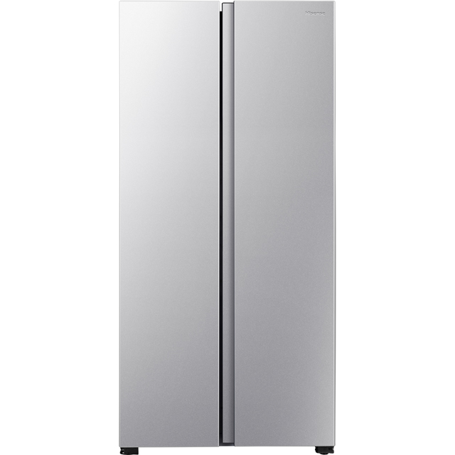 Fridgemaster MS83430FFS American Fridge Freezer - Silver - A+ Rated - MS83430FFS_SI - 1