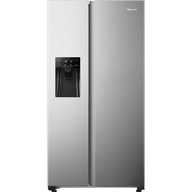 Fridgemaster MS91500IFS American Fridge Freezer - Silver - F Rated