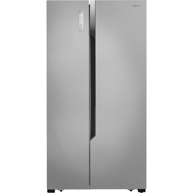 Fridgemaster Free Standing American Fridge Freezer in Silver at Boots Kitchen Appliances