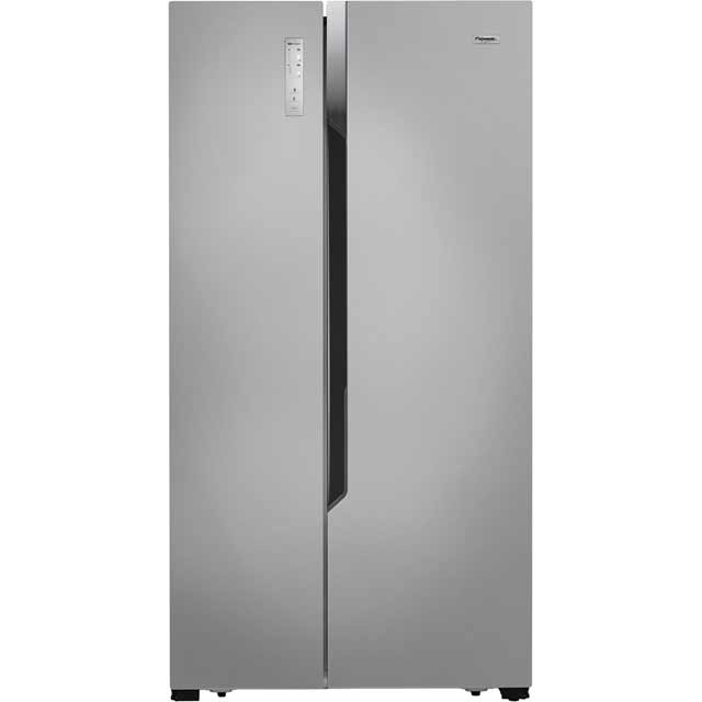 Fridgemaster MS91518FFS American Fridge Freezer - Silver