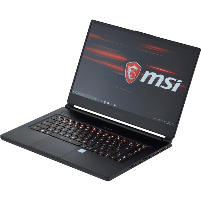 "MSI GS65 Stealth 8RE - 214UK 15.6"" Gaming Laptop - Black - 9S7-16Q211-214 - 1"