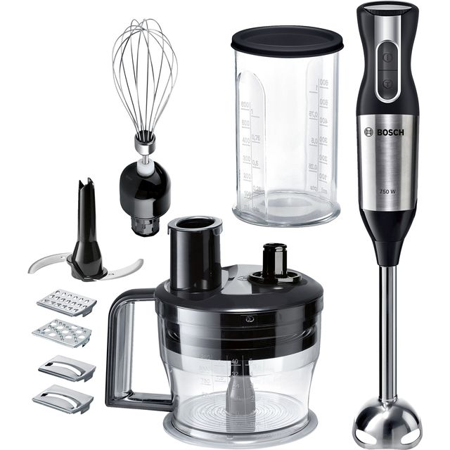 Bosch MSM6S90BGB Hand Blender with 5 Accessories - Black / Silver - MSM6S90BGB_BKSI - 1