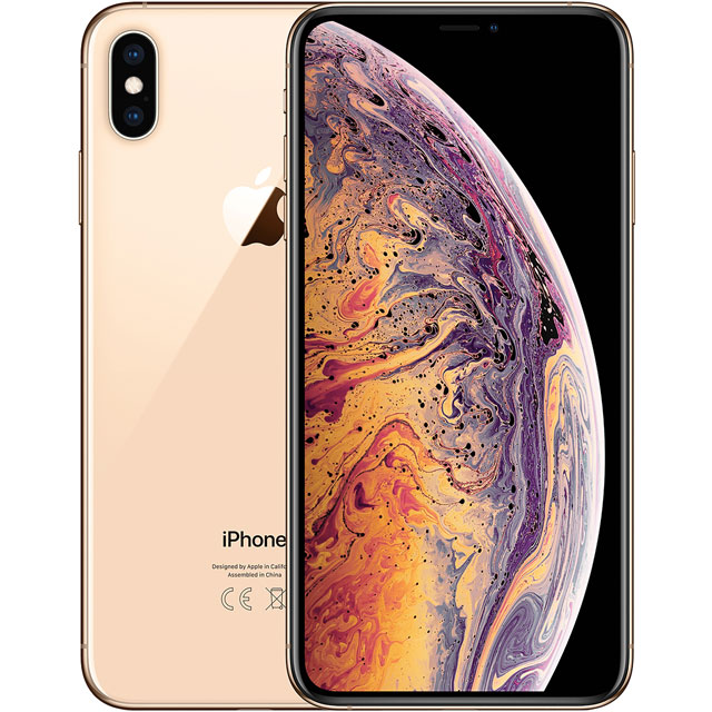 Apple iPhone Xs Max 256GB in Gold - MT552B/A - 1