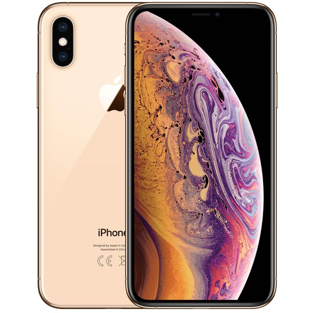 Apple iPhone Xs 64GB in Gold - MT9G2B/A - 1