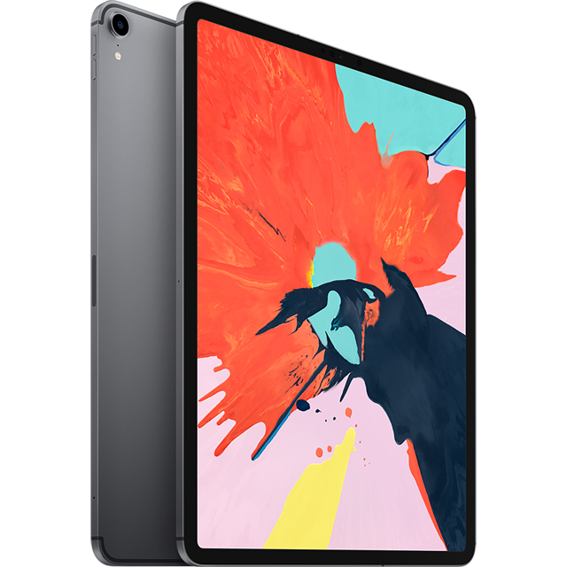 "Apple iPad Pro 12.9"" 64GB Wifi + Cellular [2018] - Space Grey - MTHJ2B/A - 1"