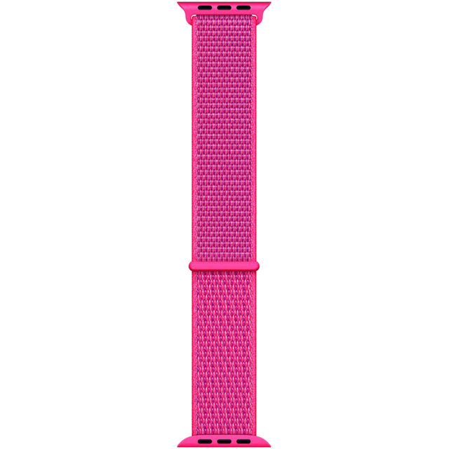 Apple Watch Strap - Hibiscus Sport Loop, 40mm - Pink - MTLY2ZM/A - 1