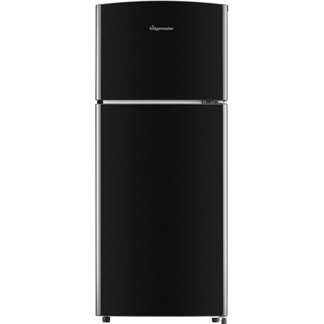 Fridgemaster 80/20 Fridge Freezer - Black - A+ Rated