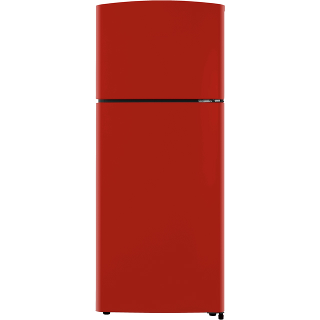 Fridgemaster MTM48120R 80/20 Fridge Freezer - Red