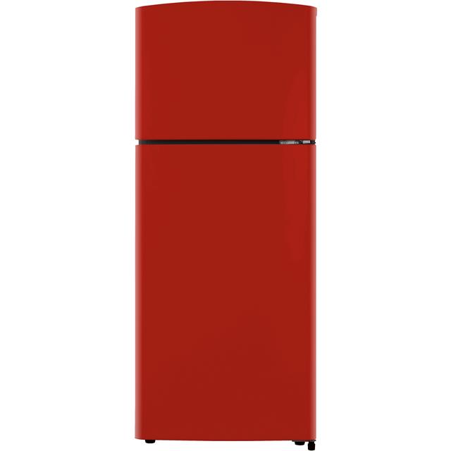 Fridgemaster MTM48120R Free Standing Fridge Freezer in Red