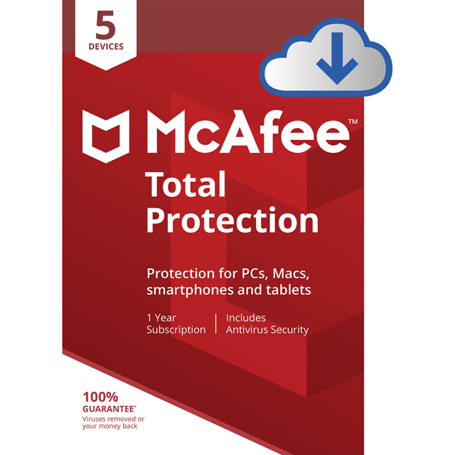 McAfee Total Protection MTP00UNR5RDD Software