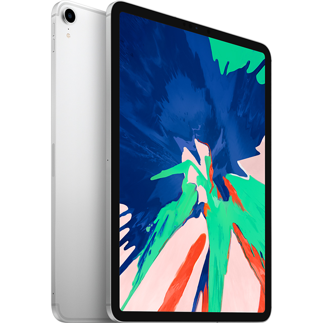 "Apple iPad Pro 11"" 64GB Wifi + Cellular [2018] - Silver - MU0U2B/A - 1"