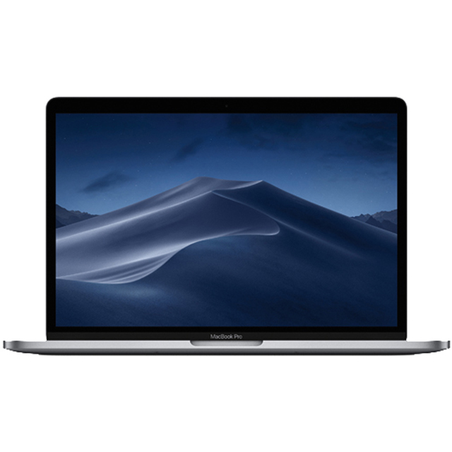 "Apple Macbook Pro with Touchbar 13.3"" [2019] - Space Grey - MUHP2B/A - 1"
