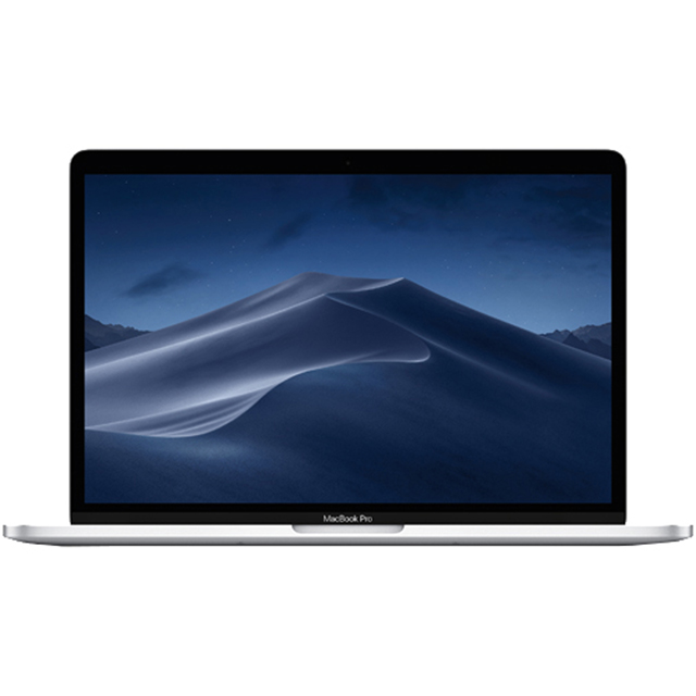 "Apple Macbook Pro with Touchbar 13.3"" [2019] - Silver - MUHQ2B/A - 1"
