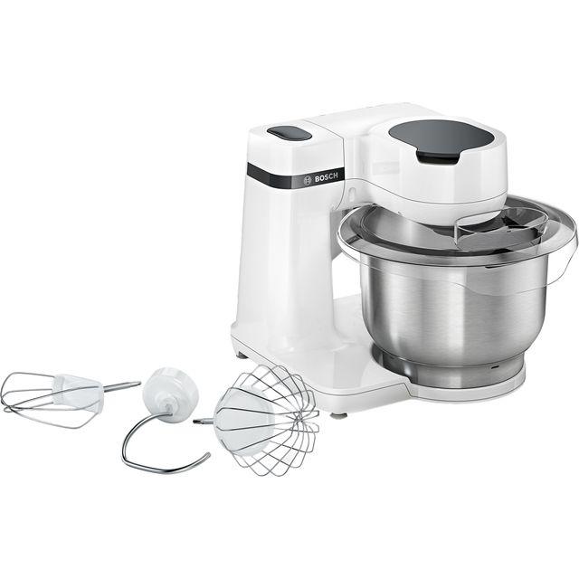 Bosch MUM Serie 2 MUMS2EW00G Stand Mixer with 3.80 Litre Bowl - White