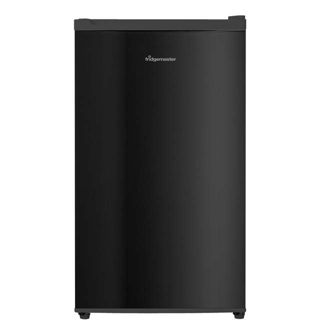 Fridgemaster MUR4892B Fridge with Ice Box - Black - A+ Rated
