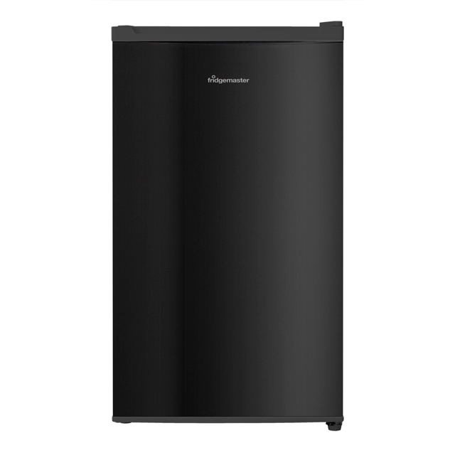 Fridgemaster MUR4892MB Fridge with Ice Box - Black - MUR4892MB_BK - 1