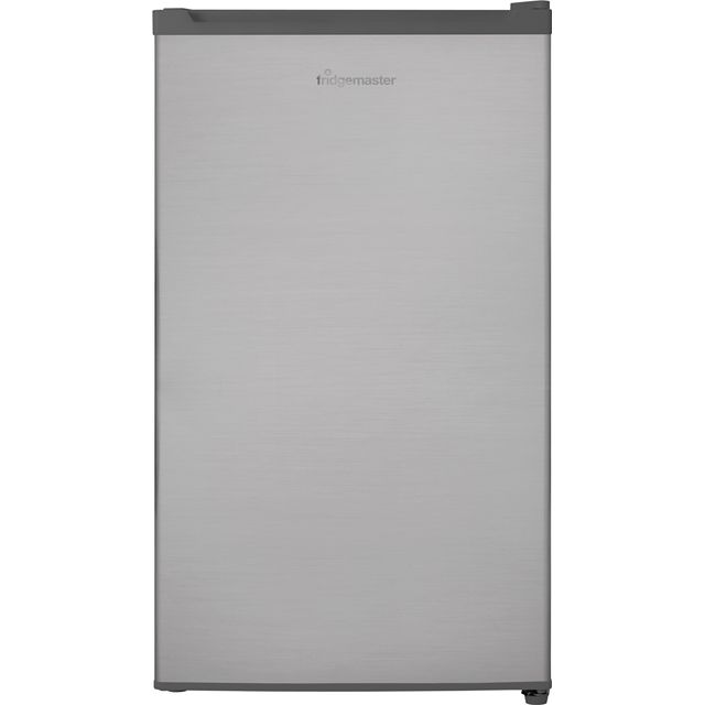 Fridgemaster MUR4892MS Fridge with Ice Box - Silver - A+ Rated - MUR4892MS_SI - 1