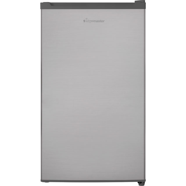 Fridgemaster MUR4892S Fridge with Ice Box - Silver - A+ Rated