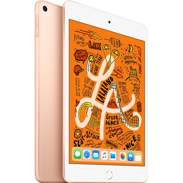 "Apple iPad Mini 7.9"" 256GB WiFi [2019] - Gold - MUU62B/A - 1"