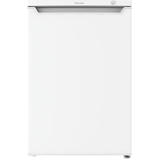 Fridgemaster MUZ5582 Under Counter Freezer - White - MUZ5582_WH - 1