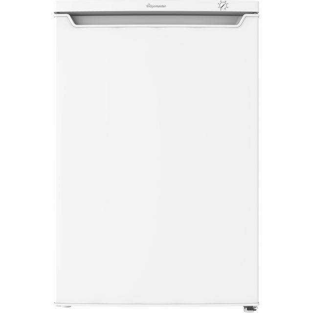 Fridgemaster MUZ5582M Under Counter Freezer - White - A+ Rated - MUZ5582M_WH - 1