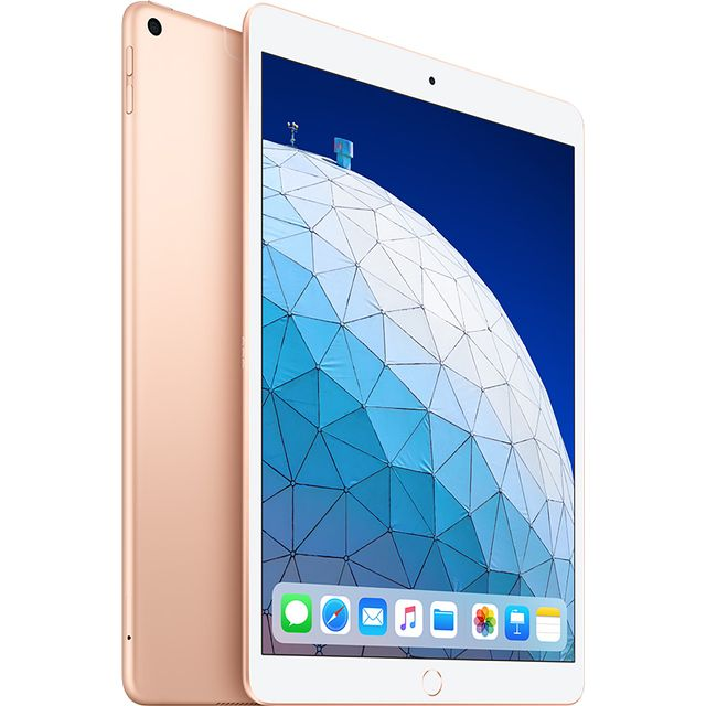 "Apple iPad Air 10.5"" 64GB Wifi + Cellular [2019] - Gold - MV0F2B/A - 1"