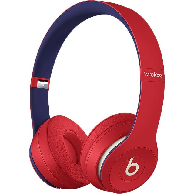 Beats Solo3 On-Ear Wireless Bluetooth Headphones - Red