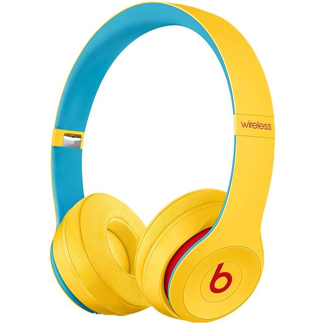 Beats Solo3 On-Ear Wireless Bluetooth Headphones - Yellow