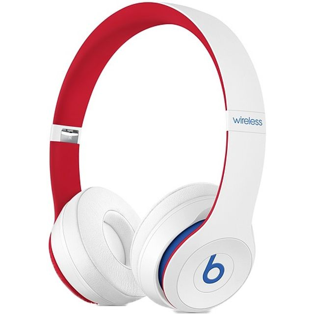 Beats Solo3 On-Ear Wireless Bluetooth Headphones - White