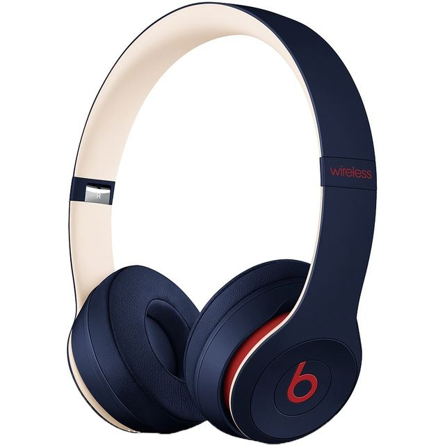 Beats Solo3 On-Ear Wireless Bluetooth Headphones - Navy