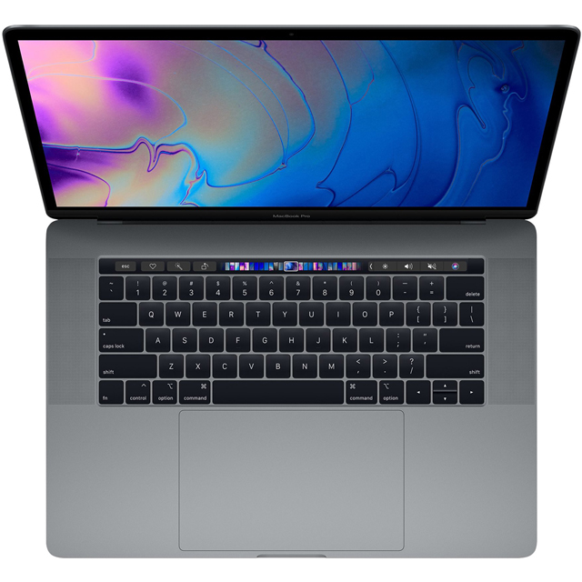 "Apple MacBook Pro with Touch Bar 15.4"" [2019] - Space Grey - MV912B/A - 1"