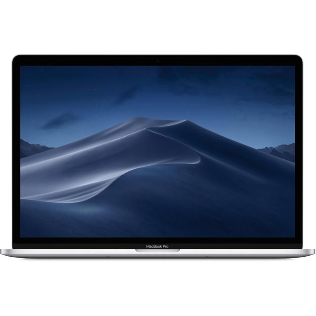 "Apple MacBook Pro with Touch Bar 15.4"" [2019] - Silver - MV932B/A - 1"