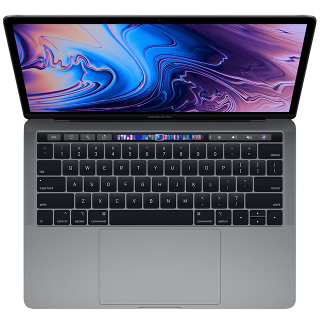 "Apple MacBook Pro with Touch Bar 13.3"" [2019] - Space Grey - MV972B/A - 1"