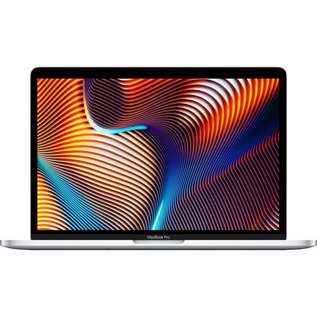 """Apple 13"""" MacBook Pro with Touch Bar [2019] - 256GB SSD - Silver"""