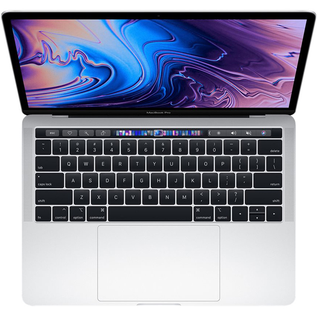 "Apple MacBook Pro with Touch Bar 13.3"" [2019] - Silver - MV9A2B/A - 1"